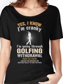 Golfing cranky Women's Relaxed Fit T-Shirt