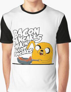 "Jake - Adventure Time ""pancakes"" Graphic T-Shirt"