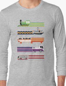 Transit System Long Sleeve T-Shirt