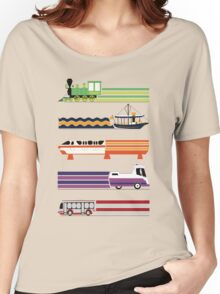 Transit System Women's Relaxed Fit T-Shirt