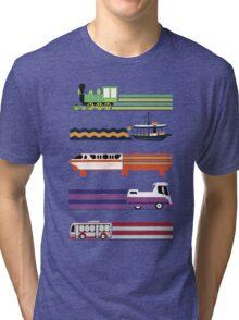 Transit System Tri-blend T-Shirt
