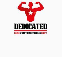 Dedicated Bodybuilding Unisex T-Shirt
