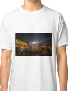 Sandstone London Bridge Milky Way Classic T-Shirt