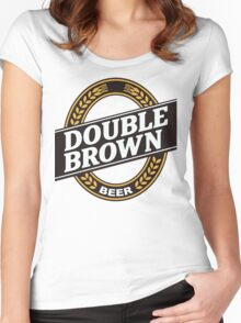 Double Brown - Nectar of the Gods Women's Fitted Scoop T-Shirt