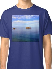 Rock and Water Landscape Classic T-Shirt