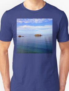 Rock and Water Landscape Unisex T-Shirt