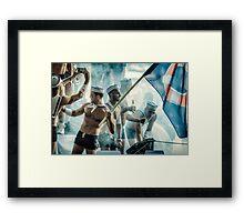 Their Iwo Jima Framed Print