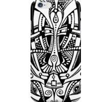 Black & White Mask iPhone Case/Skin