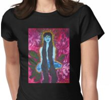 Forest Yogini Womens Fitted T-Shirt