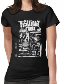 fishing tools Womens Fitted T-Shirt