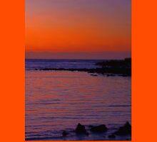 Ecuador. Galapagos Islands. Santa Cruz Island. Sunrise. Unisex T-Shirt