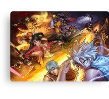 All Star Anime Canvas Print