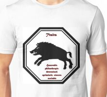 Year of the Boar - Traits Unisex T-Shirt