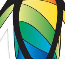 Rainbow Penguin Sticker
