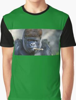 Gorilla grimace funny picture Graphic T-Shirt
