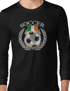 Ireland Soccer 2016 Fan Gear Long Sleeve T-Shirt
