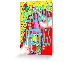 SEASONS GREETINGS 20 Greeting Card