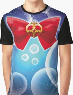 Sailor Moon - Cosmic Heart (ribbone edit.) Graphic T-Shirt