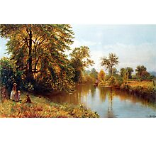 Early autumn - Salmon Branch, Granby, Ct. - 1869 Photographic Print