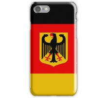 Germany map iPhone Case/Skin