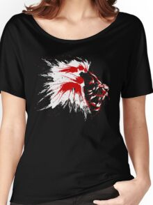 Lion blood Women's Relaxed Fit T-Shirt