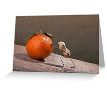 Simple Things - Sisyphos Greeting Card