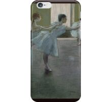 Edgar Degas - Dancers at Rehearsal iPhone Case/Skin
