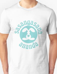 Sasangasana Ananda - Rabbit Bliss Unisex T-Shirt