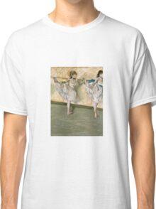 Edgar Degas - Dancers At The Bar Classic T-Shirt