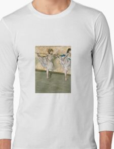 Edgar Degas - Dancers At The Bar Long Sleeve T-Shirt