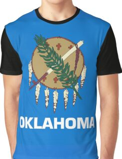 Oklahoma state flag Graphic T-Shirt