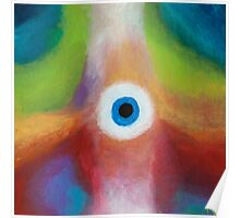 Abstract Creature Poster