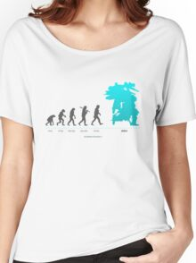 Xenoblade Chronicles X - Theory of Evolution Women's Relaxed Fit T-Shirt