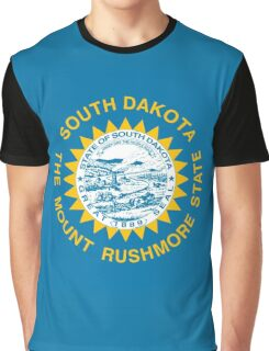South Dakota state flag Graphic T-Shirt