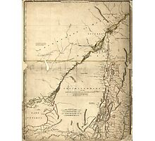 American Revolutionary War Era Maps 1750-1786 935 The provinces of New York and New Jersey with part of Pensilvania and the government's of Trois Rivières and Photographic Print