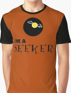 Harry Potter - I'm a SEEKER Graphic T-Shirt