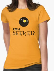 Harry Potter - I'm a SEEKER Womens Fitted T-Shirt