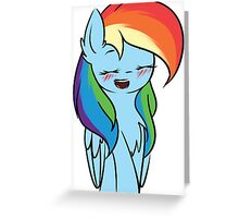 Happy Rainbow Dash~ Greeting Card