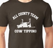 All County Team Cow Tipping Unisex T-Shirt