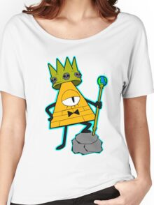 Gravity falls King Bill Cipher  Women's Relaxed Fit T-Shirt