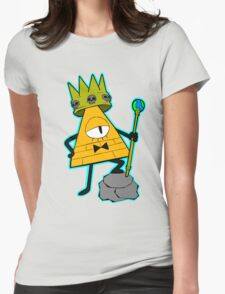 Gravity falls King Bill Cipher  Womens Fitted T-Shirt