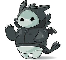 Toothless Baymax Photographic Print