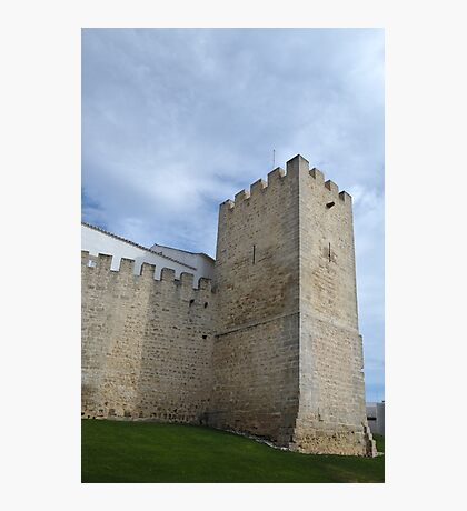 Medieval Castle Tower in Loule Photographic Print