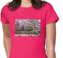 Serenity Garden Womens Fitted T-Shirt