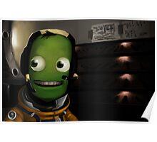 Kerbal Space Program: The First Mun Landing Poster