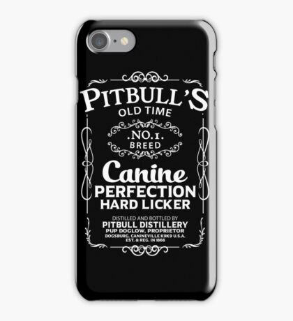 Pit Bull Old Timer iPhone Case/Skin