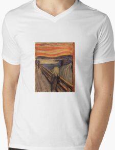 Edvard Munch - The Scream  Mens V-Neck T-Shirt