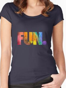 Fun. Colors Women's Fitted Scoop T-Shirt