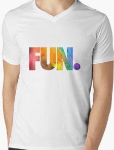 Fun. Colors Mens V-Neck T-Shirt
