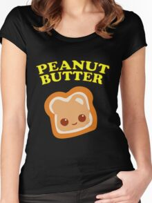 Couple - Peanut Butter (& Jelly) Women's Fitted Scoop T-Shirt